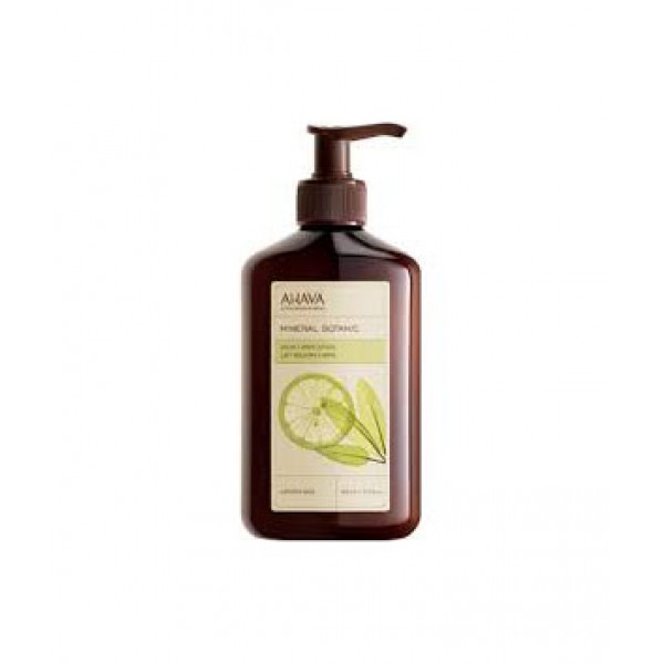 AHAVA MINERAL BOTANIC BODY LOTION LEMON & SAGE 400 мл.