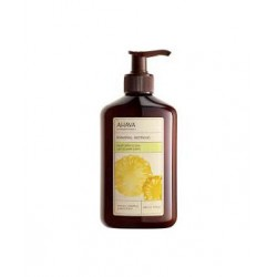 AHAVA MINERAL BOTANIC BODY LOTION PINEAPPLE & PEACH 400 мл.