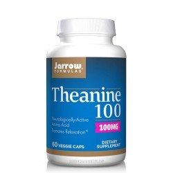 JARROW FORMULAS THEANINE 100 мг. 60 капс.