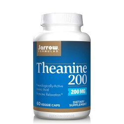 JARROW FORMULAS THEANINE 200 мг. 60 капс.