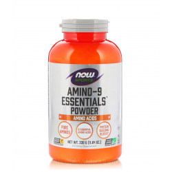 NOW FOODS AMINO-9 ESSENTIALS 330 гр.