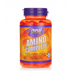 NOW FOODS AMINO COMPLETE 850 мг. 120 капс.