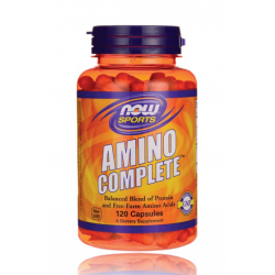 НАУ ФУДС АМИНО КОМПЛИЙТ / NOW FOODS AMINO COMPLETE 850 мг. 120 капс.