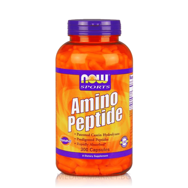 NOW FOODS AMINO PEPTIDE 400 мг. 300 капс.