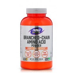 NOW FOODS BRANCHED CHAIN AMINO ACID POWDER 340 гр.