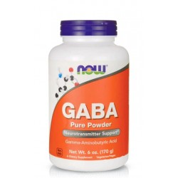 NOW FOODS GABA PURE POWDER 170 гр.