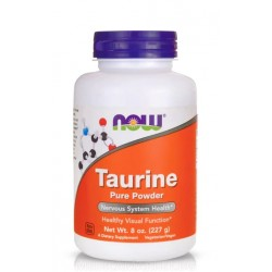 NOW FOODS TAURINE PURE POWDER 227 гр.