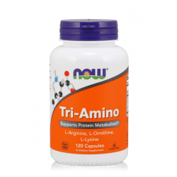 NOW FOODS TRI-AMINO 60 капс.