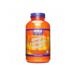 НАУ ФУДС АМИНО-9 ЕСЕНШЪЛС / NOW FOODS AMINO-9 ESSENTIALS 330 гр.