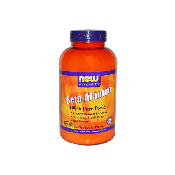 НАУ ФУДС БЕТА АЛАНИН / NOW FOODS BETA ALANINE 500 гр.