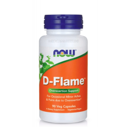 NOW FOODS D-FLAME 90 капс.