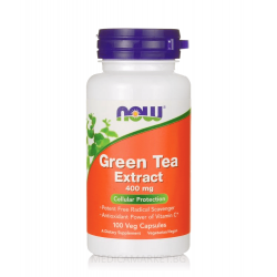 NOW FOODS GREEN TEA EXTRACT 400 мг. 100 капс.