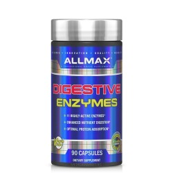 ALLMAX NUTRITION DIGESTIVE ENZYMES + PROTEIN OPTIMIZER 90 капс.