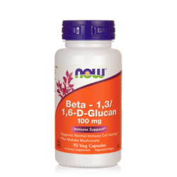 NOW FOODS BETA 1.3/1.6 D-GLUCAN 90 капс.