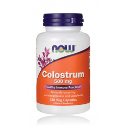 НАУ ФУДС КОЛАСТРА /  NOW FOODS COLOSTRUM 500 мг. 120 капс.