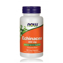 НАУ ФУДС ЕХИНАЦЕЯ /  NOW FOODS ECHINACEA 400 мг. 100 капс.