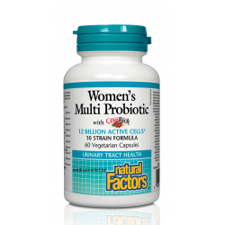 NATURAL FACTORS WOMEN'S MULTI PROBIOTIC ЗА ЖЕНИ 60 капс.