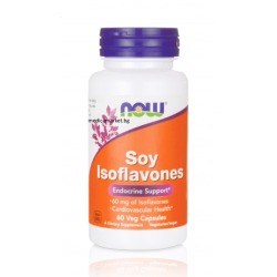 NOW FOODS SOY ISOFLAVONES 150 мг. 60 капс.