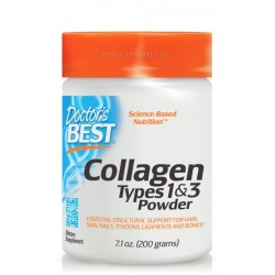 DOCTOR'S BEST COLLAGEN TYPES 1 AND 3 POWDER 200 гр.