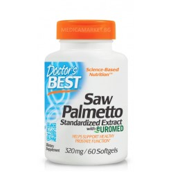 DOCTOR'S BEST SAW PALMETTO 320 мг. 60 софтгел капс.