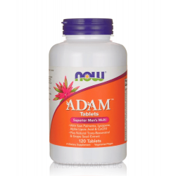 NOW FOODS ADAM МУЛТИВИТАМИНИ ЗА МЪЖЕ 60 табл.