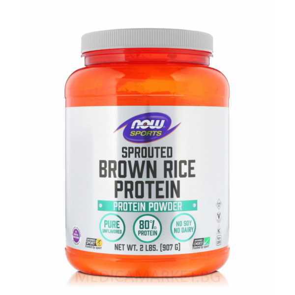 NOW FOODS BROWN RICE PROTEIN 907 гр.