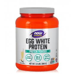 NOW FOODS EGGWHITE PROTEIN 680 гр.