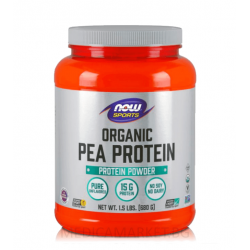 NOW FOODS PEA PROTEIN UNFLAVOURED 3178 гр.