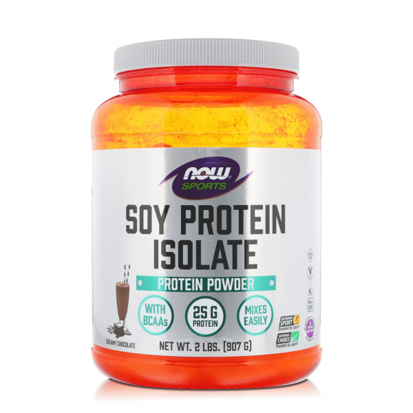 NOW FOODS SOY PROTEIN ISOLATE 907 гр.