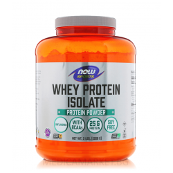 NOW FOODS WHEY PROTEIN ISOLATE 2268 гр.