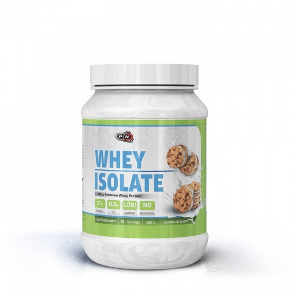 ПЮР НУТРИШЪН СУРОВАТЪЧЕН ПРОТЕИН ИЗОЛАТ / PURE NUTRITION WHEY PROTEIN ISOLATE 454 гр.