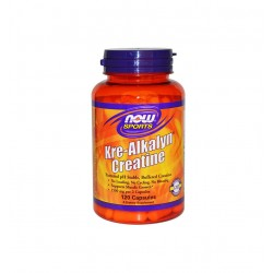 НАУ ФУДС КРЕ-АЛКАЛИН / NOW FOODS KRE-ALKALYN CREATINE 750 мг. 120 капс.