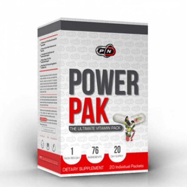 PURE NUTRITION POWER PAK 20 пакета