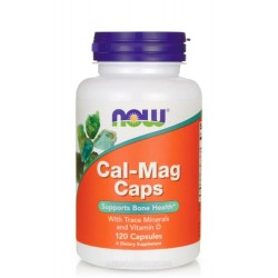 NOW FOODS CAL-MAG 120 капс.