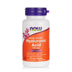 NOW FOODS HYALURONIC ACID 100 мг. 60 капс.