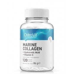 OSTROVIT MARINE COLLAGEN WITH HYALURONIC ACID AND VITAMIN C 120 капс.