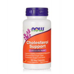 NOW FOODS CHOLESTEROL SUPPORT (ФОРМУЛА ЗА ХОЛЕСТЕРОЛА) 90 капс.