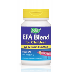 NATURE'S WAY EFA BLEND ЗА ДЕЦА 445 мг. 60 капс.