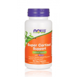 NOW FOODS SUPER CORTISOL SUPPORT (ФОРМУЛА ПРОТИВ СТРЕС) 90 капс.