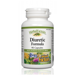 NATURAL FACTORS DIURETIC FORMULA 300 мг. 90 капс.