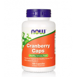 NOW FOODS CRANBERRY БОРОВИНКА ЕКСТРАКТ 100 капс.