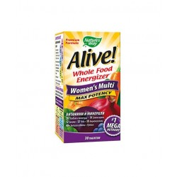 АЛАЙВ МУЛТИВИТАМИНИ ЗА ЖЕНИ / ALIVE WOMEN'S MULTI MAX POTENCY 30 табл.