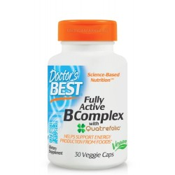 DOCTOR'S BEST FULLY ACTIVE B COMPLEX 30 капс.