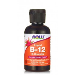 NOW FOODS LIQUID B-12 B-COMPLEX 59 мл.