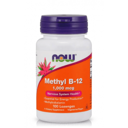 NOW FOODS METHYL B-12 1000 мкг. 100 капс.