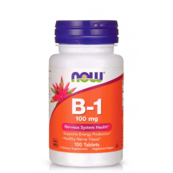 NOW FOODS VITAMIN B-1 (THIAMINE) 100 мг. 100 табл.