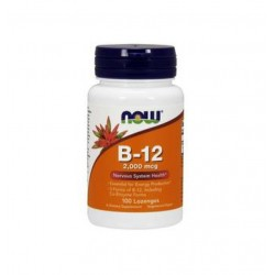 НАУ ФУДС ВИТАМИН B-12 / NOW FOODS VITAMIN B-12 2000 мкг. 100 драж.