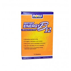НАУ ФУДС ВИТАМИН B-12 ИНСТАНТ ЕНЕРДЖИ / NOW FOODS VITAMIN B-12 INSTANT ENERGY 75 пакета