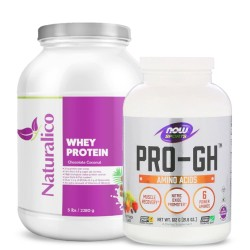 NOW FOODS PRO-GH + NATURALICO WHEY PROTEIN