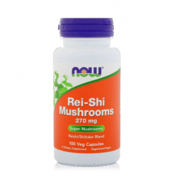 NOW FOODS REI-SHI MUSHROOMS 270 мг. 100 капс.